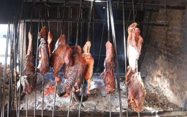 Gastronomía llanera-carne mamona